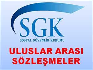 Sgk Uluslararası Sözleşmeler