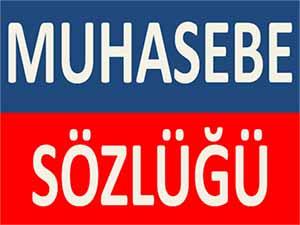 MUHASEBE SÖZLÜĞÜ