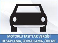 MOTORLU TAŞITLAR VERGİSİ HESAPLAMA, SORGULAMA VE ÖDEME EKRANI